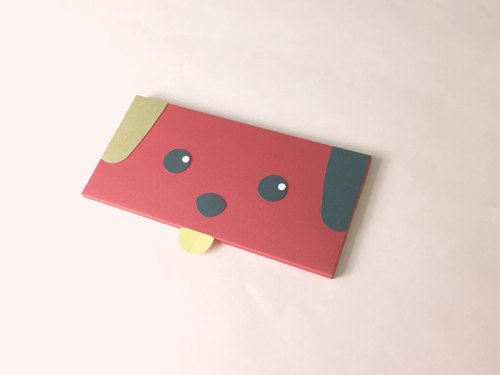 New Year (Year of the Dog) creative hand-made red envelope bag _D section _ into