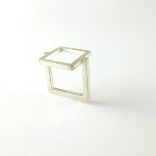 Sterling Silver Ring, Architectural Collection Architecture collection ATR002 Handmade Silverware