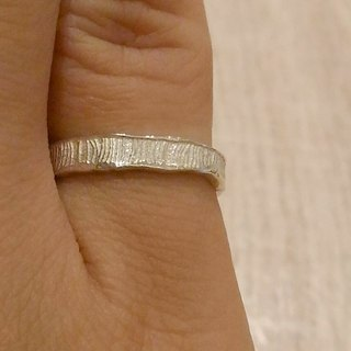 Liuyingchieh Sea - Ocean 925 Sterling Silver Ring: Hualien Qixingtan Guanlang: Wave Ring