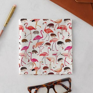 ALICE IN WONDERLAND FLAMINGOS & HEDGEHOGS HANDKERCHIEF & POCKET SQUARE