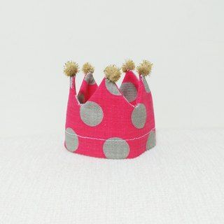Ella Wang Design Crown Crown birthday hat pet cats and dogs Shuiyu point