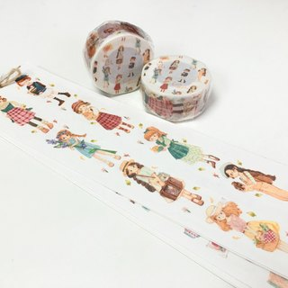 Tiny Girls Masking-tape