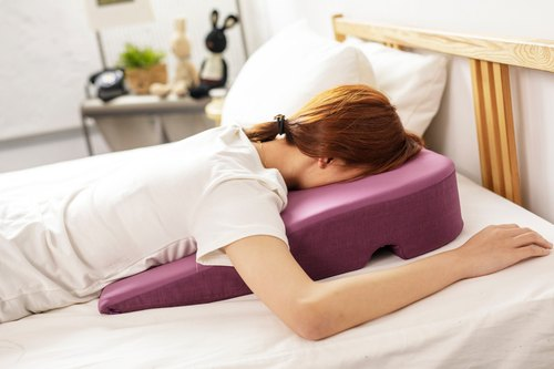 SPA sleep pillow _ massage special _ personal lying lying cleaning pad prone release anti-fouling beauty finger pressure body application [Prodigy wave giant]