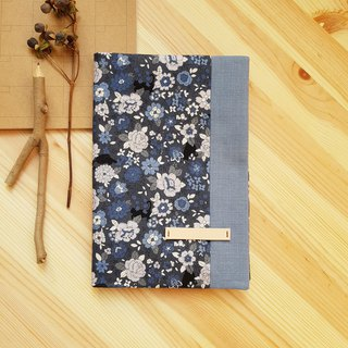 A5/25K adjustable cloth book in the flowers of the cat
