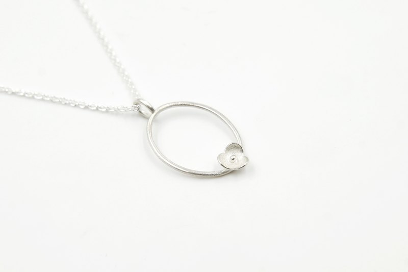 I-Shan13 small wreath circle necklace