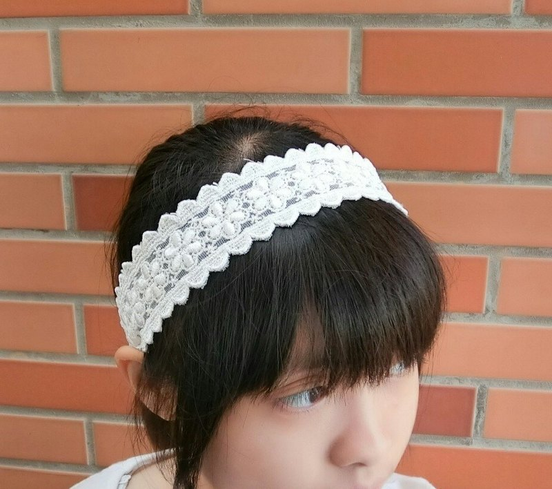 Embroidery Lace Hairband*SK*