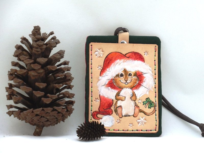 Card Set - Christmas Squirrel (Positive)