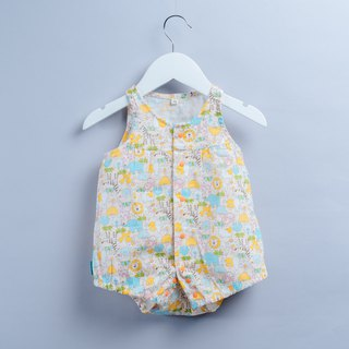 Wind and sleeveless package fart - animal forest infant child newborn