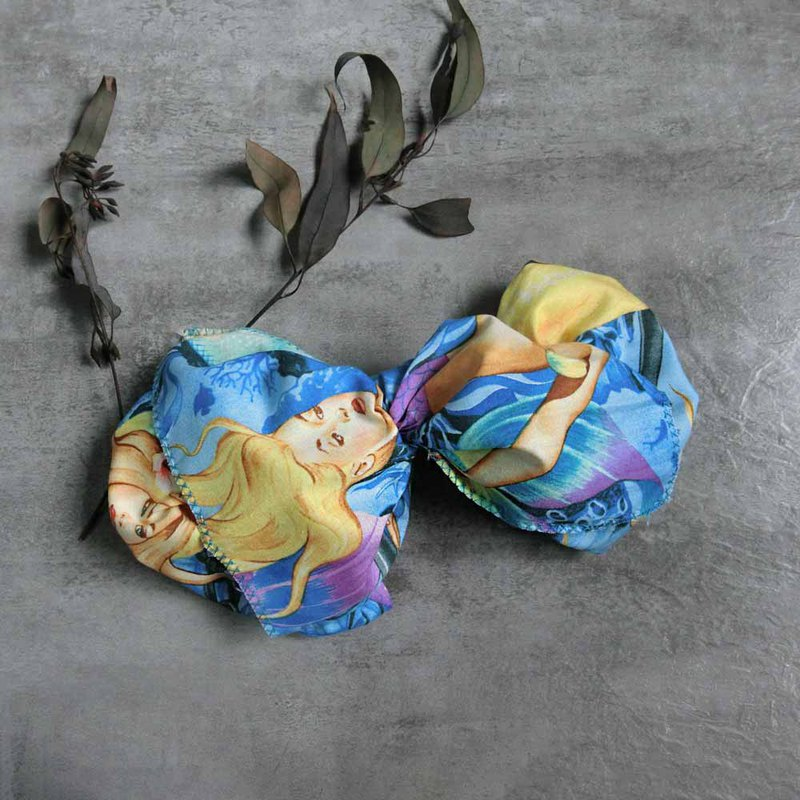 Mermaid Jilan giant butterfly hair band - the whole strip can be taken apart