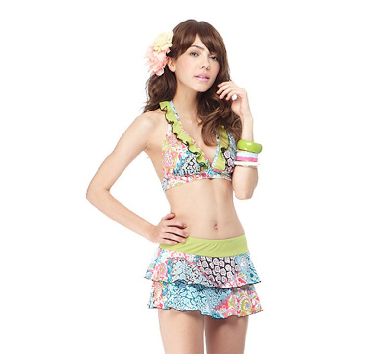MIT Bikini - Three Piece/Reef Yellow