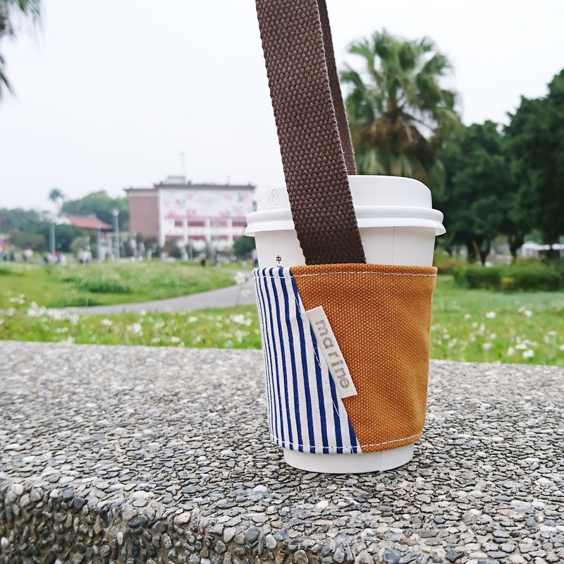 Beverage bag / cup bag [Ocean series]