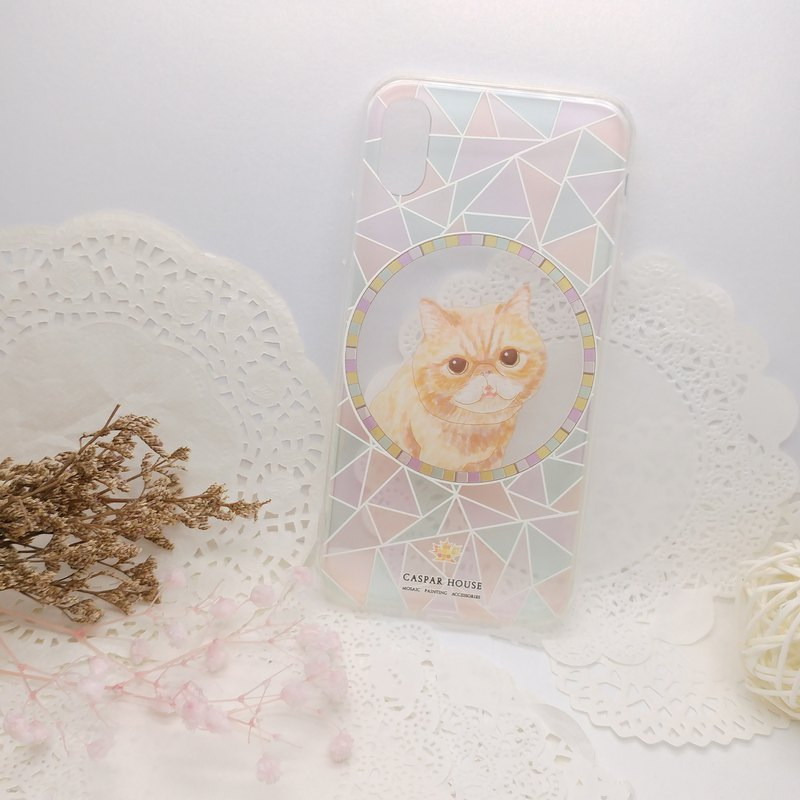 Mosaic Animal phone case - Exotic Shorthair