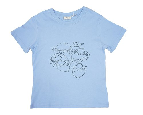 Organic Cotton T-Shirt - Boys Version - Blue Seal Holiday