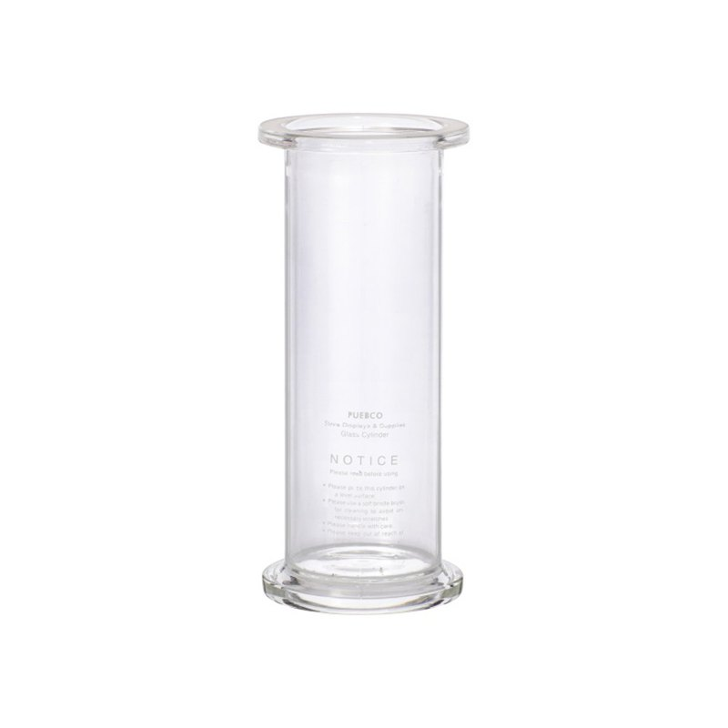 GLASS CYLINDER Large Cylindrical Glassware - Large