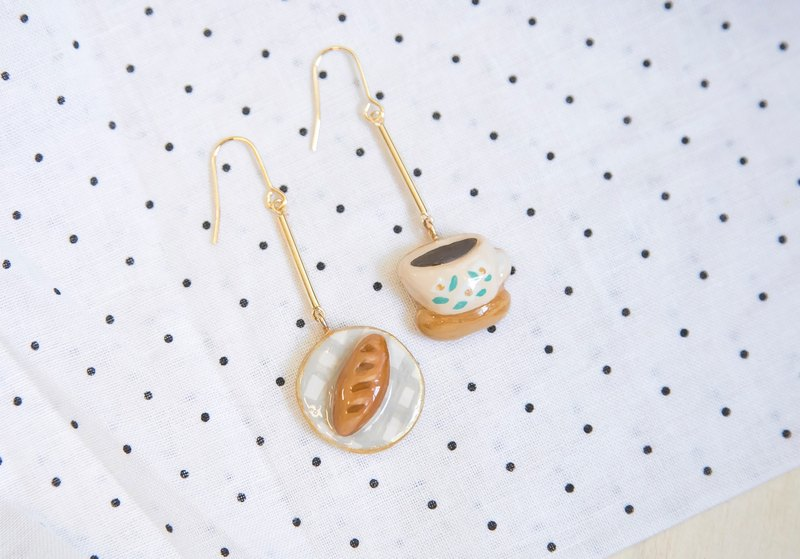 Afternoon Tea Time Pack and Coffee Hanging Earrings