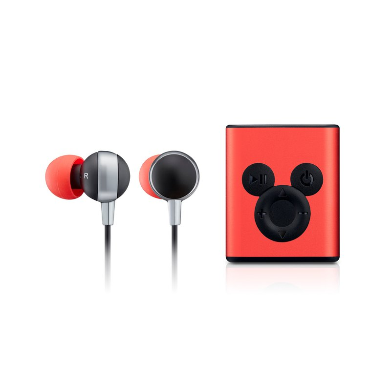 InfoThink Mickey Series Bluetooth Headset (90th Anniversary Edition) - Magic Red