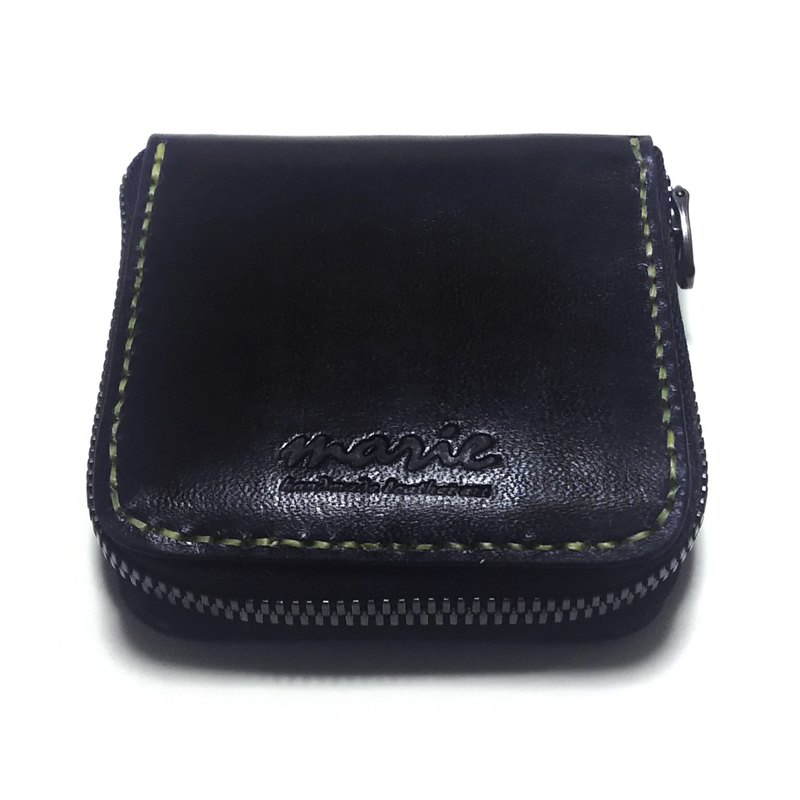marie / Mary leather made leather coin case / coin purse / excella fastener