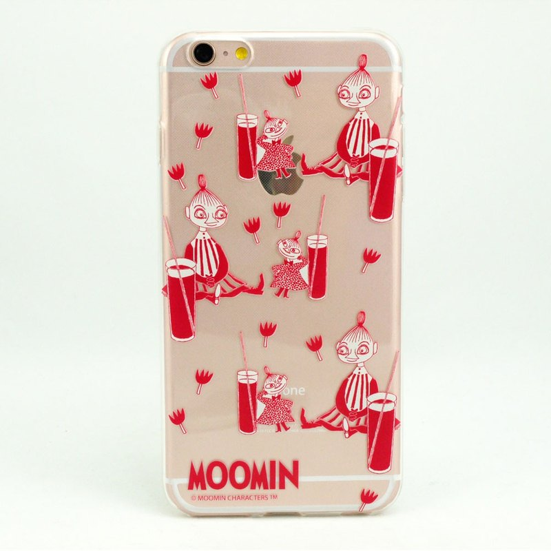 "Moomin Moomin genuine authority -TPU phone case: [Mabel] and Little Dot ""iPhone / Samsung / HTC / ASUS / Sony / LG / millet"""