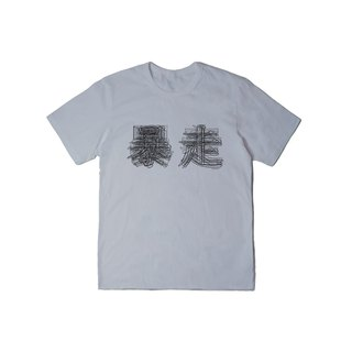 EVANGELION X oqLiq Gospel Fighters Tee (Gray)