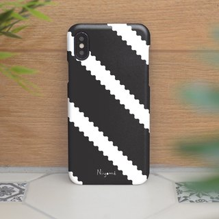 zigzag on black iphone case สำหรับ iphone7 iphone 8, iphone 8 plus ,iphone x