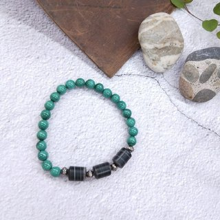 Bracelets. Malachite*agate*simple wild hand
