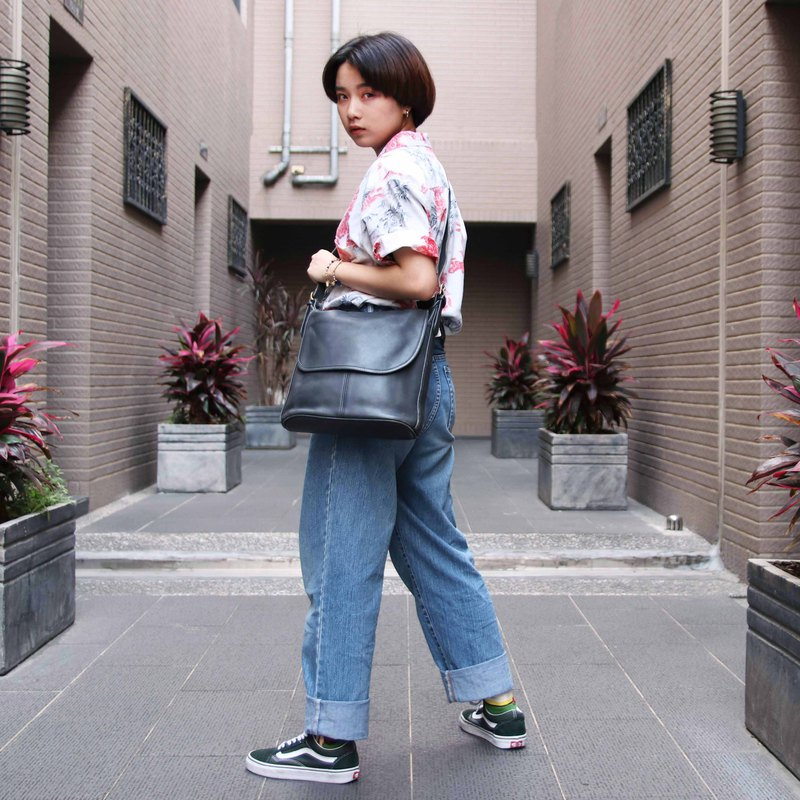 Tsubasa.Y Antique House Coach Bag 010, leather bag side backpack antique bag