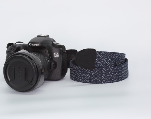 Pu.sozo cloth hand-made feng shui ripple camera strap / camera rope / monocular / single single / double strap hole camera