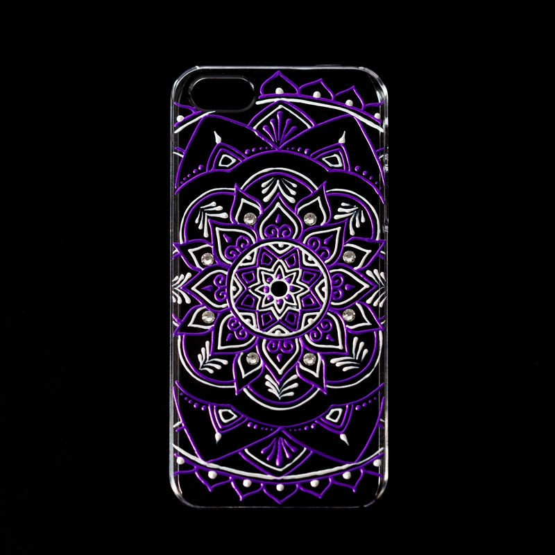 Malic ◈ henna style hand-painted phone case
