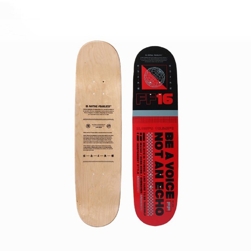 FF - Skateboard Red 紅色滑板