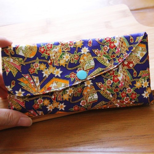 Elegant red envelope bag - hand made red envelope bag wedding cloth red bag horizontal red envelope bag cute storage bag sanitary napkin storage bag
