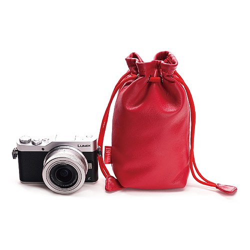 mi81 camera solid color sheepskin bag (S)