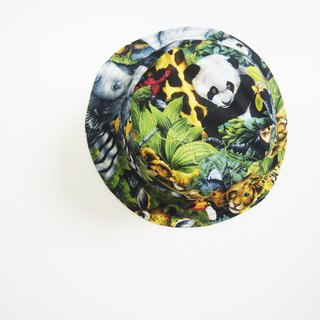 Baby Animals - Handmade Bucket Hat | Double sided