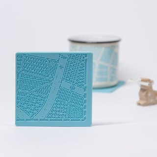 艋舺Cup Mats--Four Pieces of China Road