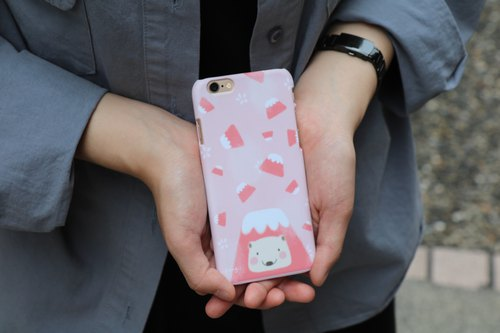 Theme Phone Case | Pink Fuji