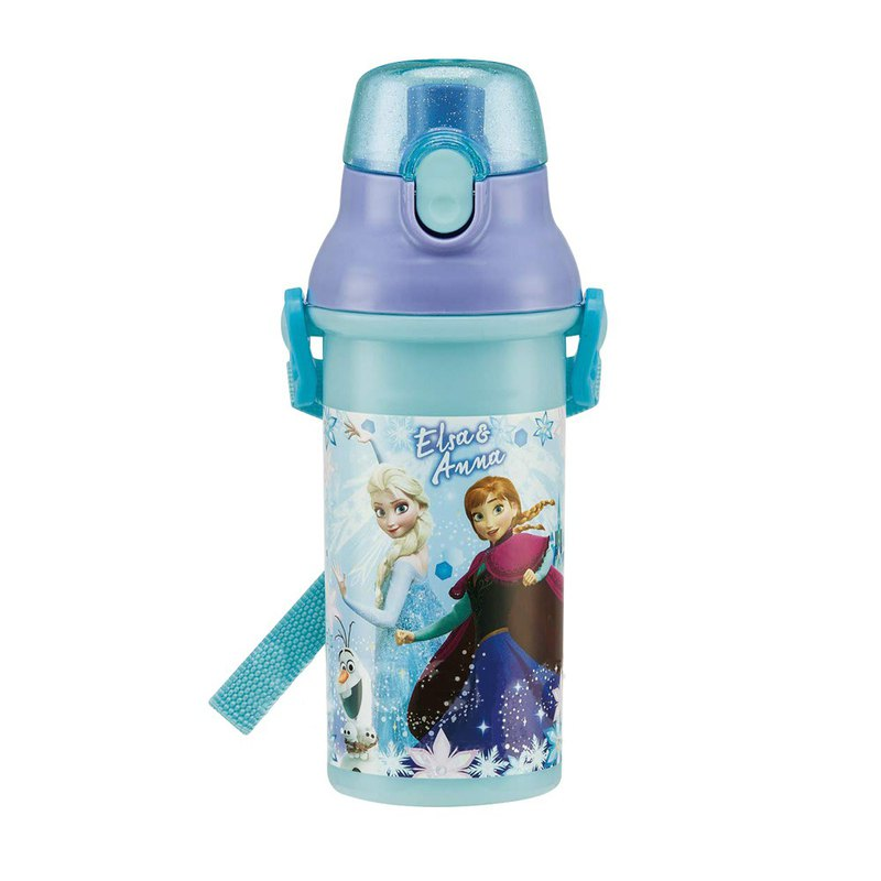 SKATER - Japanese made drinking water bottle 480mL - Frozen PARTY