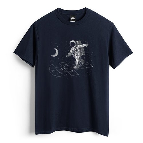 Dream under the stars - dark blue - Unisex T-Shirt