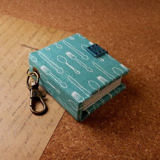 [to picnic together] mini small phase key ring 5cmX4.3cm - custom small things