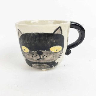 Nice Little Clay Small Four-Foot Cup Stinky Cat Cute Cat 0108-03