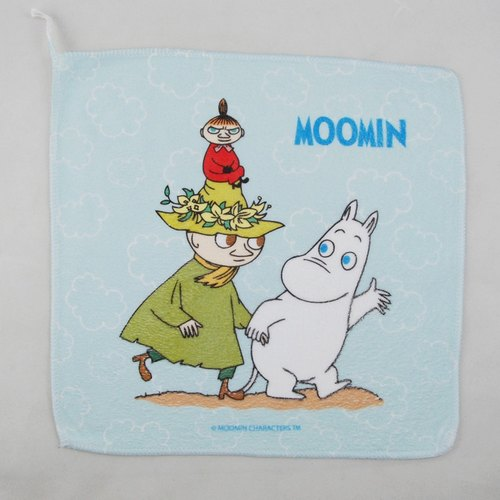 Moomin Moomin authorization - towels: [Let's Go]
