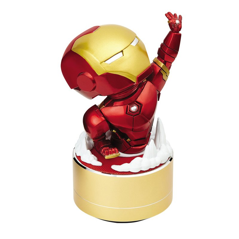 InfoThink Iron Man Series Play Music Bluetooth Light Speaker