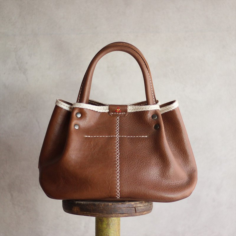 [Japanese leather products] Ideal for walks Pumpkin Tote S size jb-2-s [Please choose the color from the following product types]