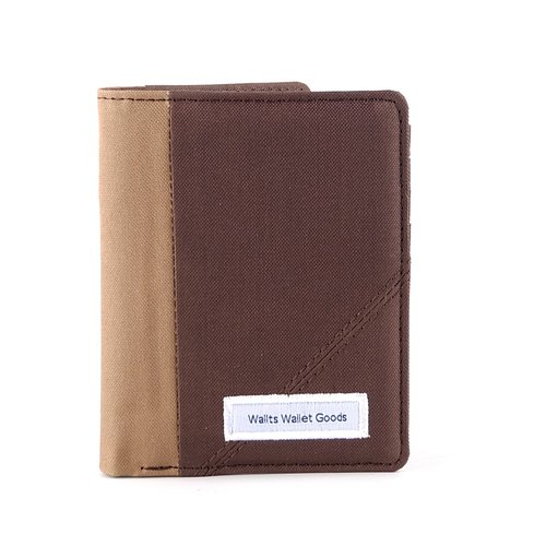 Waterproof Canvas Wallet - Cornwall Brown