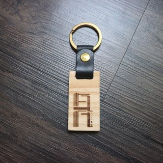 Arts & Crafts Leather & Woodworking Wooden Key Chains Free lettering