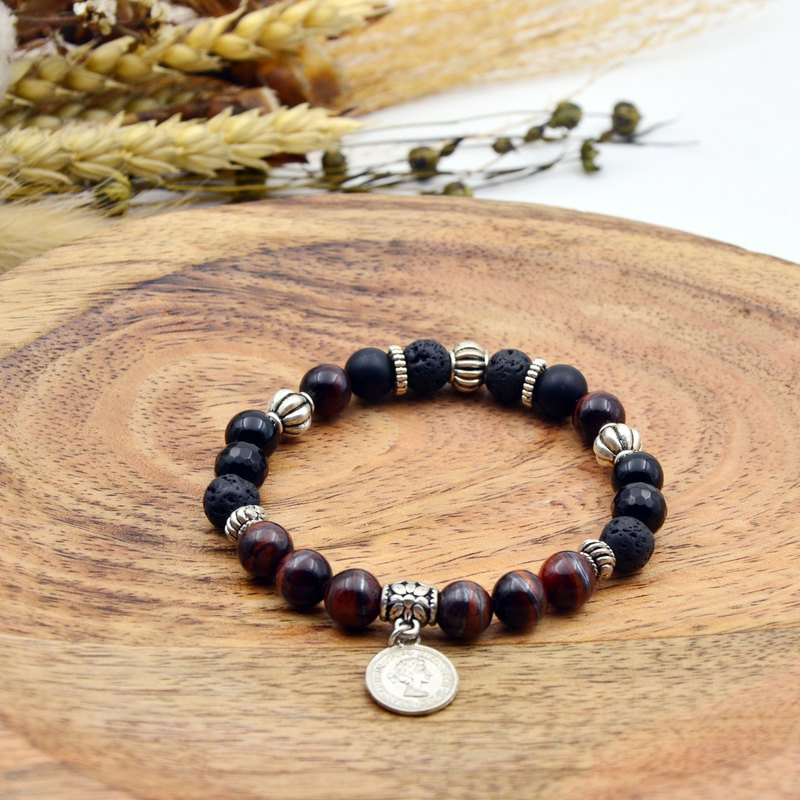 Tiger Hu | Red Tiger Eye Stone | Natural Stone Bracelet