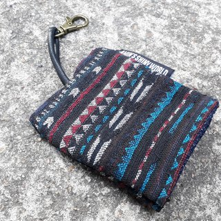 AMIN'S SHINY WORLD Handmade Ethnic Wind Braid Key Case 02