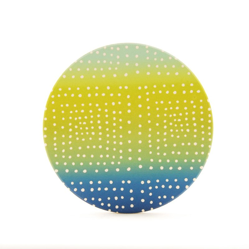Creative designer - absorbent coaster: 【first love soda】 (round / square) -850 Collections, EB1AF05