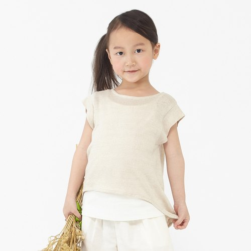 Ángeles- linen knit two-piece jacket (2-6 years old)