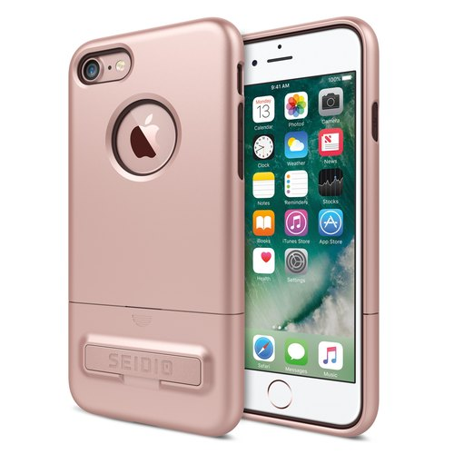 City Fashion Two-color Case / Case for iPhone 7-Rose Gold -SURFACE ™ Collection