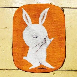 emmaAparty illustration bag - Tai Chi meat rabbit