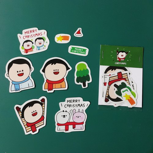 Merry Christmas / Sticker Pack